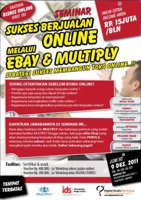 Semianr Sukses Berjualan Online