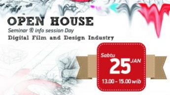 """Open House IDS : Seminar & Info Session Day """"DIGITAL FILM AND DESIGN INDUSTRY"""""""