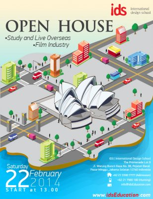 Open House IDS : STUDY AND LIVE OVERSEAS & FILM INDUSTRY