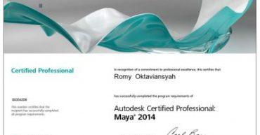 Autodesk Certified Professional: Maya® 2014