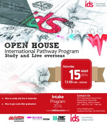 "Open House IDS : Seminar & Info Session Day ""INTERNATIONAL PATHWAY PROGRAM : Study and Live Overseas"""