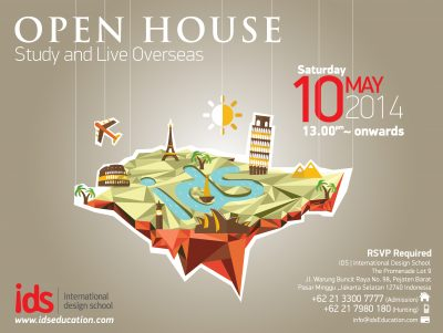 Open House IDS : STUDY AND LIVE OVERSEAS