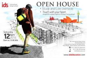 Open House IDS : Study and Live Overseas & Digital Art and Design