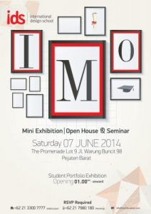 IMO : IDS Mini Exhibition & Open House