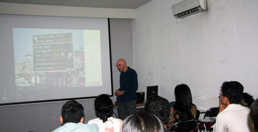 """PUBLIC LECTURE """"MAPPING AND VISUALIZATION"""" BERSAMA PETER HALL"""