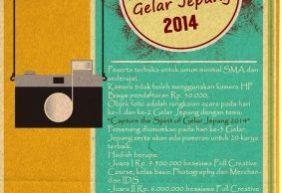 Lomba Fotografi Gelar Jepang UI 2014 Bersama IDS