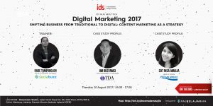IDS TALKS ABOUT TECH: SHIFTING BUSINESS FROM TRADITIONAL TO DIGITAL: CONTENT MARKETING AS A STRATEGY