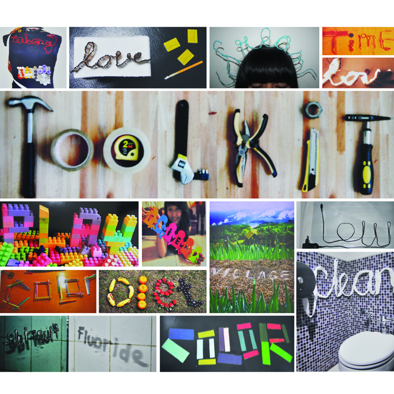 Typography assignments compilation, Batch 2013
