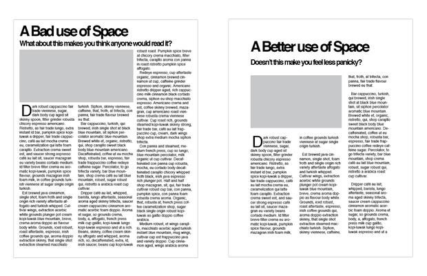 perbedaan whitespace