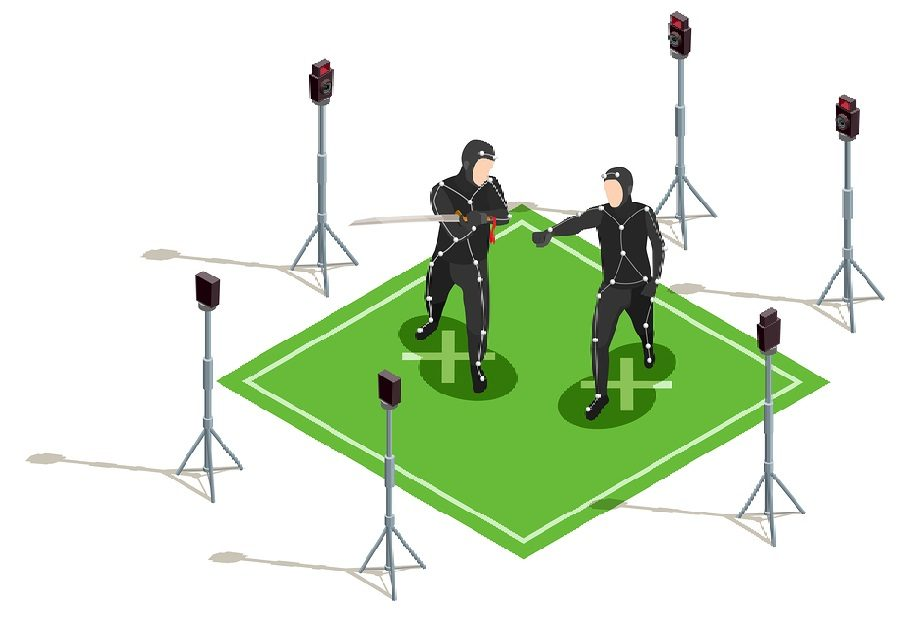 optical motion capture 3