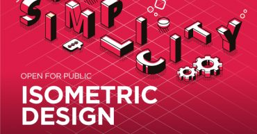 isometric-design-poster-with-speaker